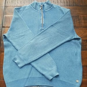 Tommy Bahama Jeans pullover half zip sweater